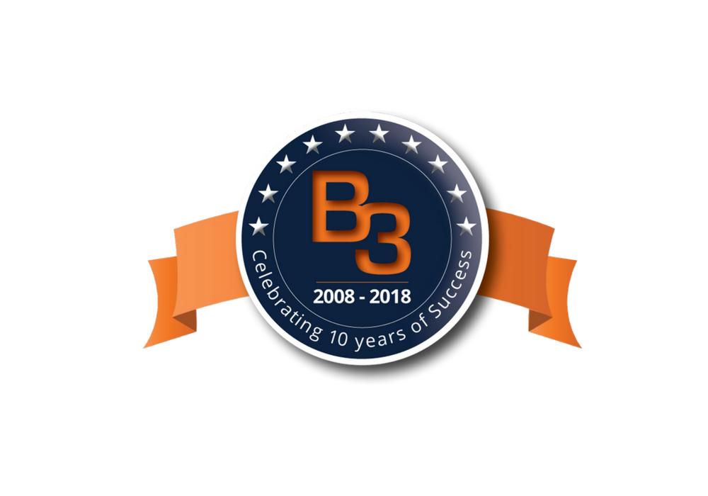 B3 Group Celebrates 10 Years of Success