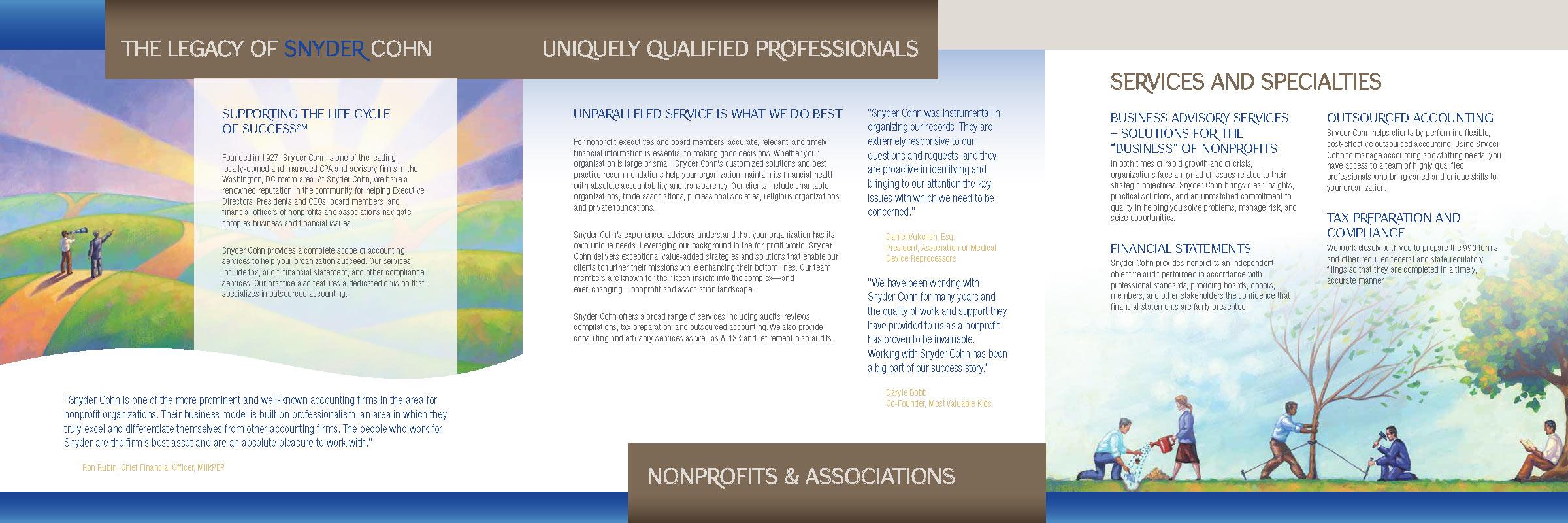 Snyder Cohn brochure