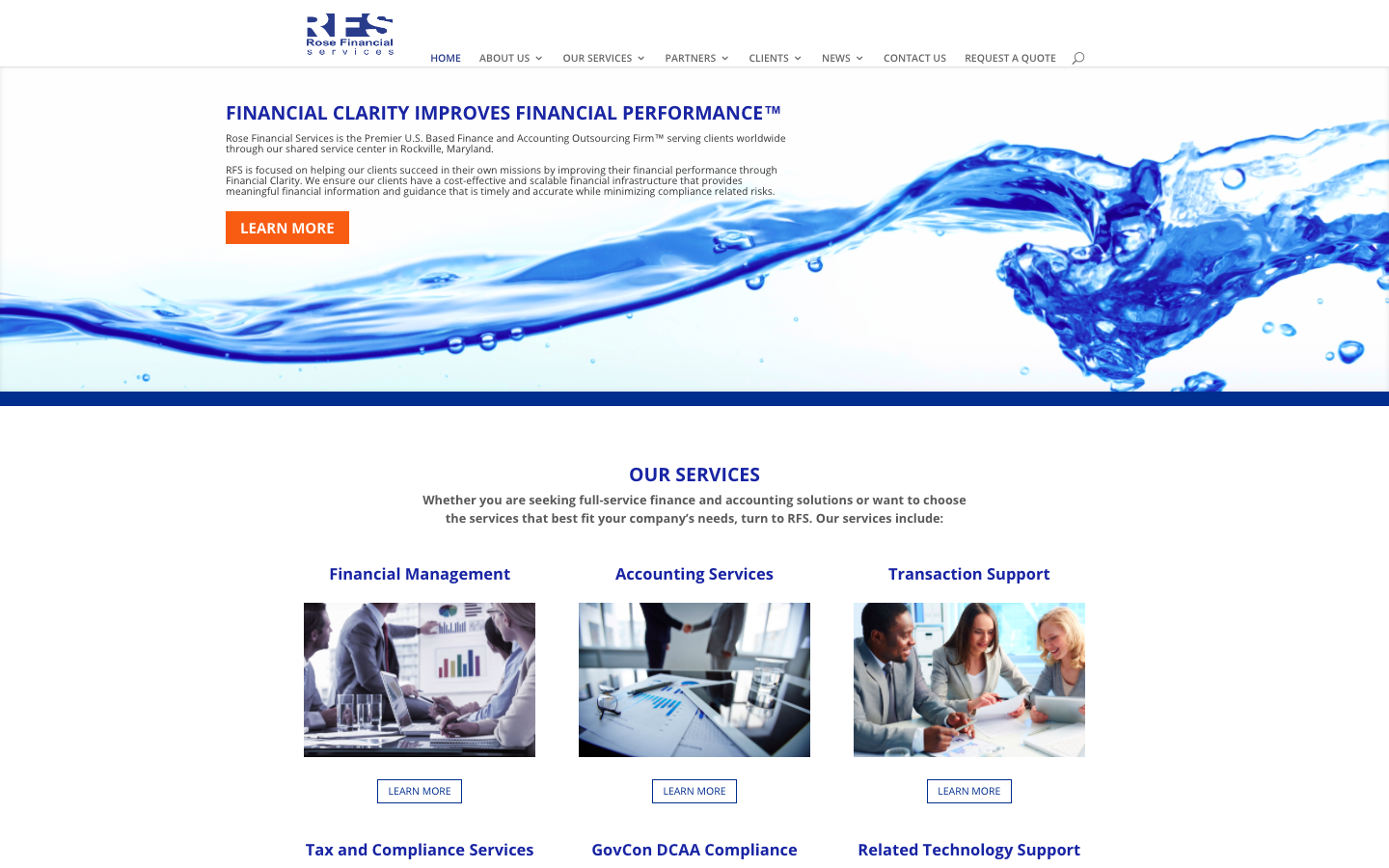 RFS - Home Page