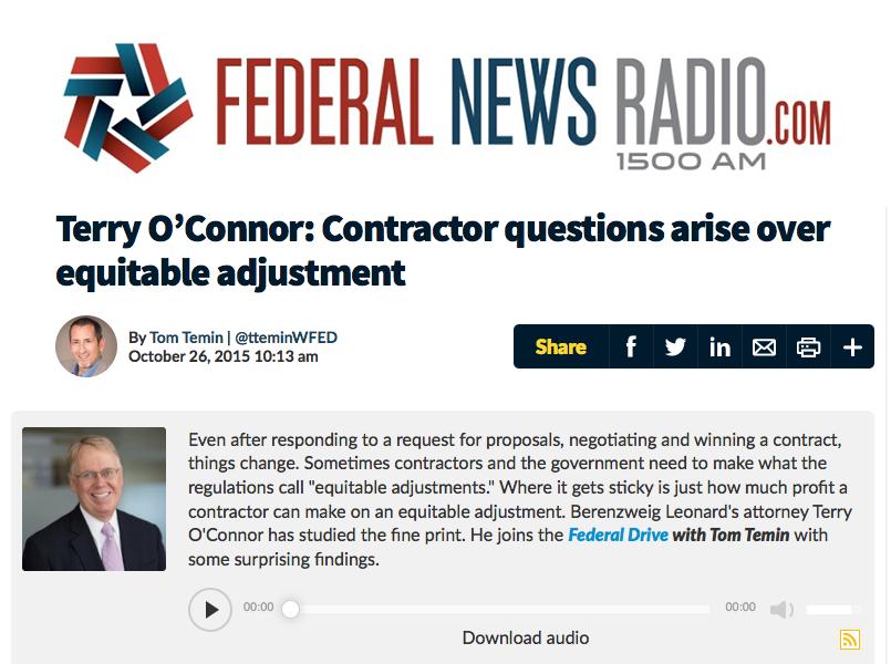 Berenzweig on Federal News Radio