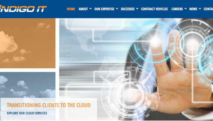 Indigo IT website