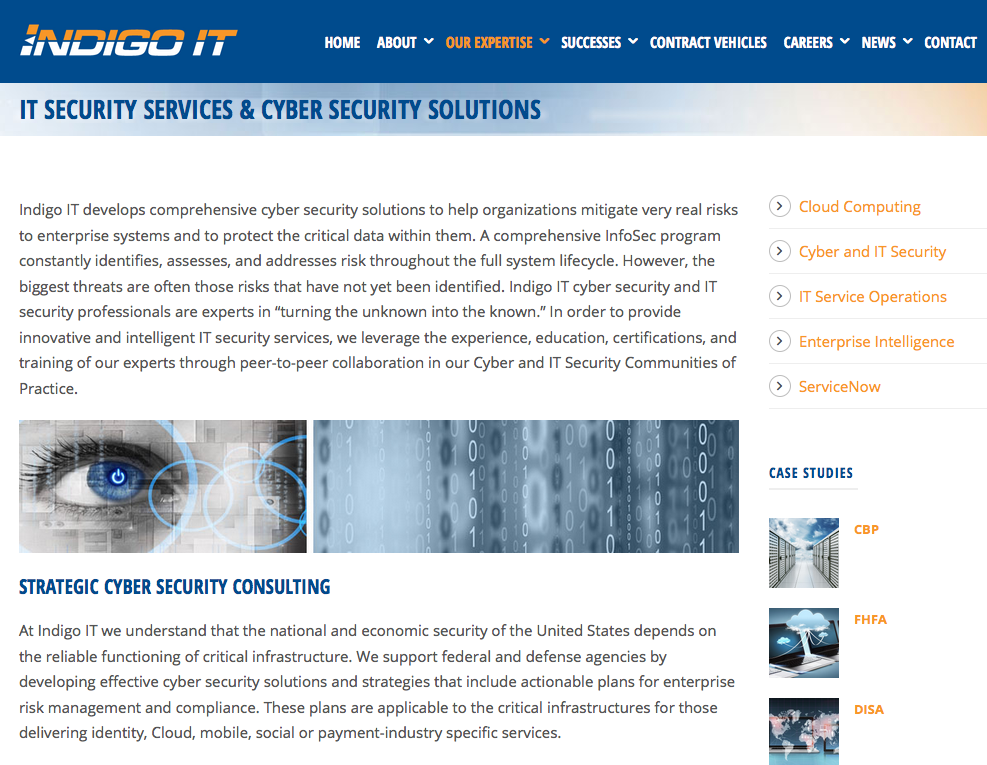 Indigo IT | Verasolve - Marketing | PR | Branding