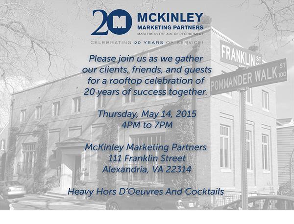 McKinley Marketing invite